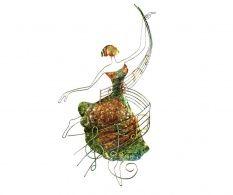 Decoratiune  de perete Dancer on Notes Green