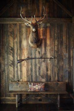 #wood #mounting #elk