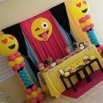 Fiesta de cumpleaños con temática de EMOJIS | Curso de organizacion de hogar aprenda a ser organizado en poco tiempo