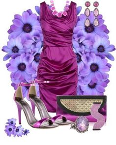"""Magenta Love"" by anna-campos ❤ liked on Polyvore by Abigalea"