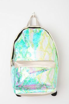 Holographic Mermaid Backpack