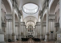 Barreled-vaulted ceilings were typical of the Renaissance era...