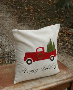 Rustic Christmas Pillow Sham