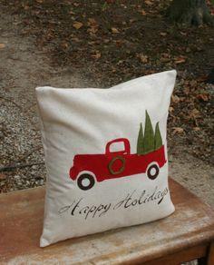 Rustic Christmas Pillow Sham