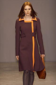 Vintage Miuccia Prada -- Coat dress, Fall 2001 Collection