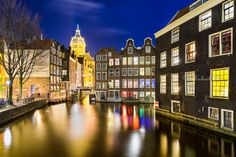Nightly Amsterdam by Michael Abid on 500px