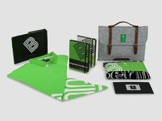 COLOURS & CITIES / Berlin Series / Notebook, Polo Shirt, Flat Bag