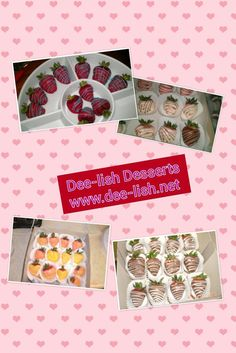 For Sale: Dessert Catering - DEE~LISH DESSERTS & CATERING BY SHE & SHE  www.dee-lish.net/   Contact us for information about ordering my dee-lish treats for your upcoming graduation party and all of your special events such as birthday parties, weddings, baby/bridal showers, anniversary parties or corporate events, no event is too big or small. Specializing in chocolate covered strawberries, pineapples, Oreos, pretzels, and many more. These treats are great to purchase for a birthday par...