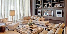 Estar e Sala de Almoço | Fernanda Eicke. casa cor santa catarina.