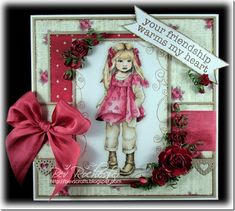 As soon as the new Sugar Nellie digi stamps were released I had to go and buy them. Tea Roses, Pink Roses, Children Sketch, Open Rose, Hobby House, Wild Orchid, Digi Stamps, Card Sketches, Cute Cards