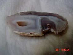 Gray and White Agate Slab Rough Free Form Stone by mnblarneystone, $4.00