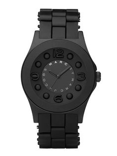 nice Montre pour femme : Marc by Marc Jacobs Watches Men's Pelly Round Black Watch...