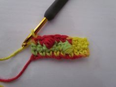Picture tutorial, this blog has some great crochet information.