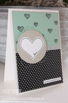 LizDesign Stampin Up You're So Sweet Card