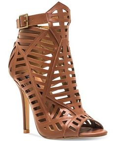 Chelsea & Zoe Parnika Caged Shooties - Sandals - Shoes - Macy's