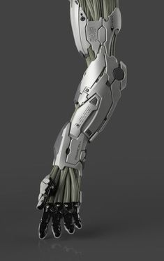 Random Ghost — Mechanical Arm (crop) by Frederic Daoust