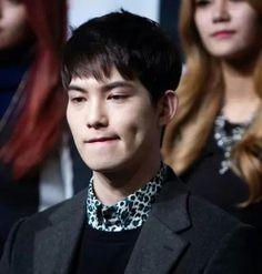 Mr burning dimple Hyunnie! ♥♥♥