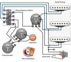 5way super switch schematic Google Search Guitar