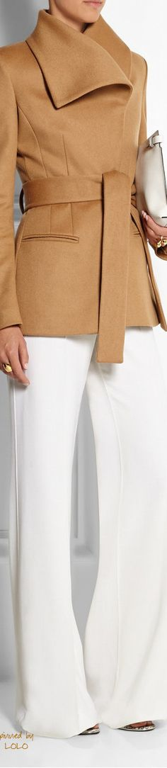 ALTUZARRA Balthius Wool-Blend Jacket *I've GOT to get me a camel coat/jacket-this one is gorgeous. Style Work, Mode Style, Look Fashion, Womens Fashion, Fashion Coat, Fall Fashion, Fashion Ideas, Casual Mode, Business Outfit
