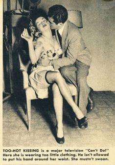 Tabous de la TV en 1949 | Folie Vintage Webzine, le site de l'actualité et les tendances rétro & vintage