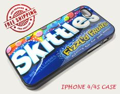 Skittles Candy Iphone case for iphone 4 iphone Candy Phone Cases, Food Phone Cases, Iphone 4 Cases, Cute Phone Cases, Iphone 4s, Phone Covers, Coque Iphone 5s, Accessoires Iphone, Phone Cases