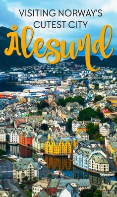 Ålesund is widely regarded as Norway's most beautiful city, and it makes for the…