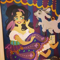 Esmeralda detail, by tumblr request!
