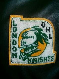 London Knights Jason Allison worn team Leather jacket OHL CHL Bruins Leafs Kings