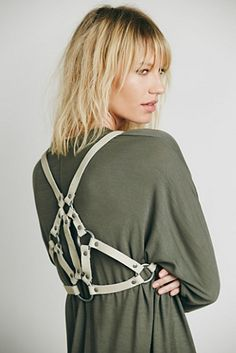 Steampunk harness accessory ? Free People Womens Pax Harness Vest $19.95 AT vintagedancer.com