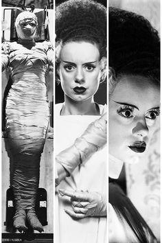 "j-dueso: """"The Bride of Frankenstein "" Morbo+Cinema ""Bride of Frankenstein "" "">Controversial Movies< "" "">Polémicas< "" "" Classic Hollywood, Old Hollywood, Elsa Lanchester, Tv Movie, Epic Movie, Frankenstein's Monster, Monster Mash, Horror Monsters, Maila"