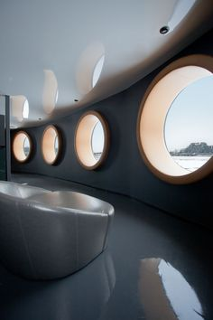 Bota Bota // A Former Ferry Becomes A Floating Spa - Sid Lee Architecture