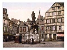 la place de la Pucelle entre 1890 et 1900 ....