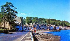Marine Road, Port Bannatyne 1970. Isle Of Bute, Magic Island, Scottish Gaelic, Arran, 12th Century, Glasgow, United Kingdom, Scotland, Castle