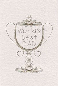 Father's Day pattern added at Stitching Cards | Prick And Stitch Is My Craft