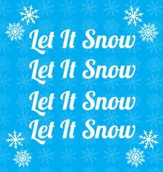 Let It Snow Art Print by Maureen Bates Photography $19.00 - $95.00