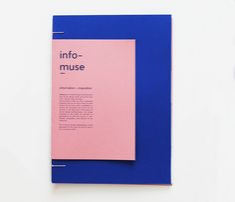 Infomuse on Behance