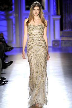 Zuhair Murad pasarela de alta costura en paris, coleccion primavera verano 2012. Vestidos de Gala, vestidos de noche.