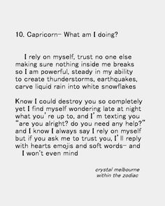 Within The Zodiac - Poetry for the Signs in love- happy valentine's. Capricorn Lover, All About Capricorn, Capricorn Facts, Capricorn Quotes, Zodiac Signs Capricorn, Capricorn And Aquarius, My Zodiac Sign, Zodiac Quotes, Astrology Signs