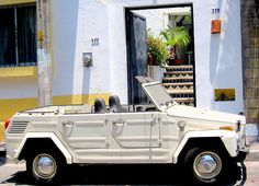 """do what you wanna do.    The Volkswagen Type 181 """"Kurierwagen"""", popularly known in the United Kingdom as the Trekker, in the United States as the Thing, and in Mexico as the Safari, was a small military vehicle produced by Volkswagen from 1969 to 1983,"""