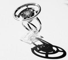 Anillo en plata 925, y cuarzo jardín.. Silver Rings, Jewelery