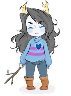 rated E for Ewwww because who would want Vriska as Frisk