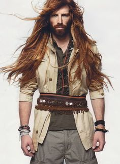 From distractify.com article: 27 Hot Guys Whose Long Hair Was Grown By The Angels Themselves