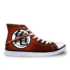 sale retailer 281c7 4c5be Dragon Ball Z Kanji Icon Shoes
