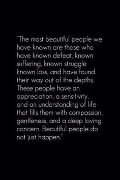 beautiful people don't just happen