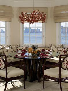 White Modern Dining Room - Dining Room Decorating Ideas - Zimbio