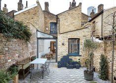 Achter deze Londense voorgevel schuilt een te gekke glazen aanbouw - Roomed
