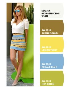 ‿✿⁀ Cool and trendy summer skirt and top ‿✿⁀ ColorSnap by CNH
