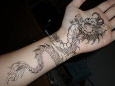 40 Coole Drachen Tattoo Vorlagen