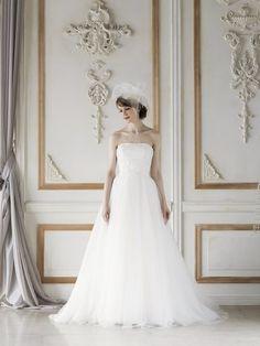 Liras / Aline (リラ / Aライン) | COLLECTION | Verde(ヴェルデ)|レンタルウェディングドレス・オートクチュールドレス