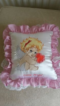 A remembrance cushion